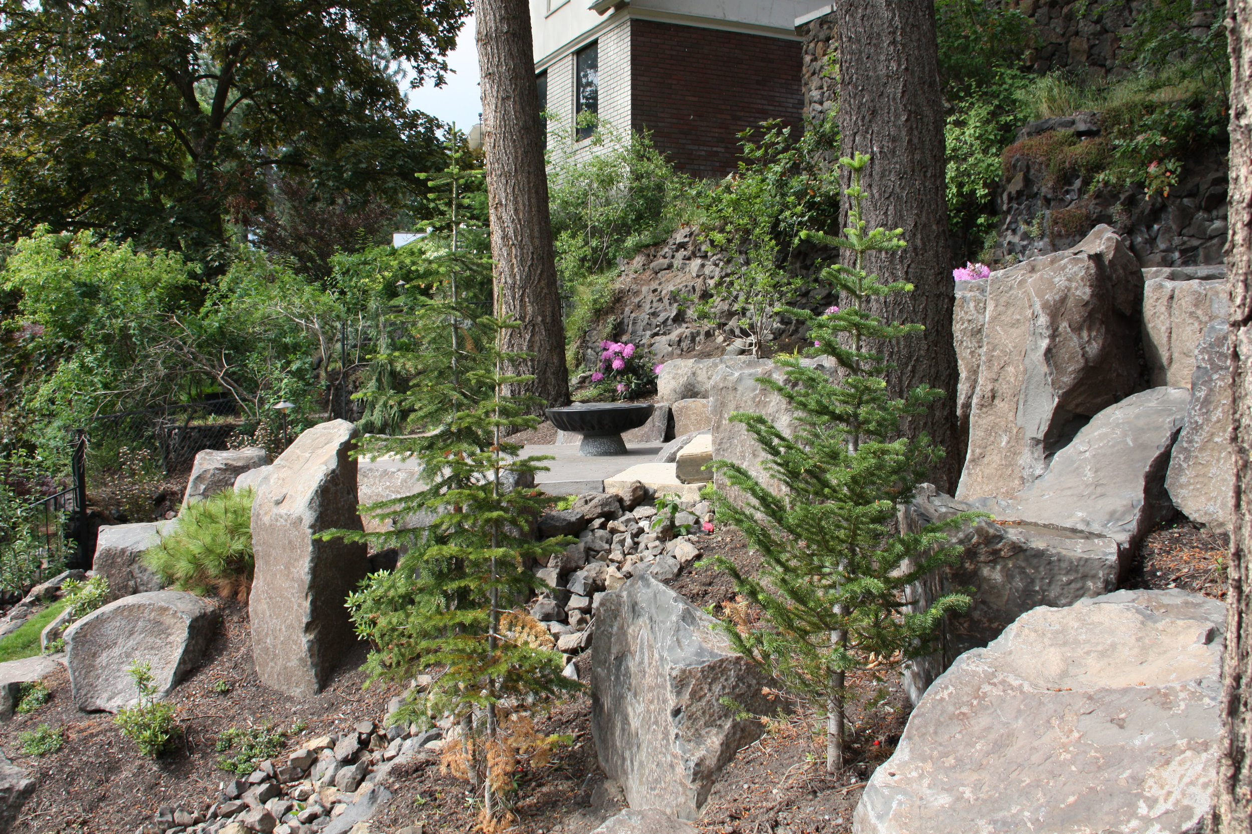 spokane retaining walls