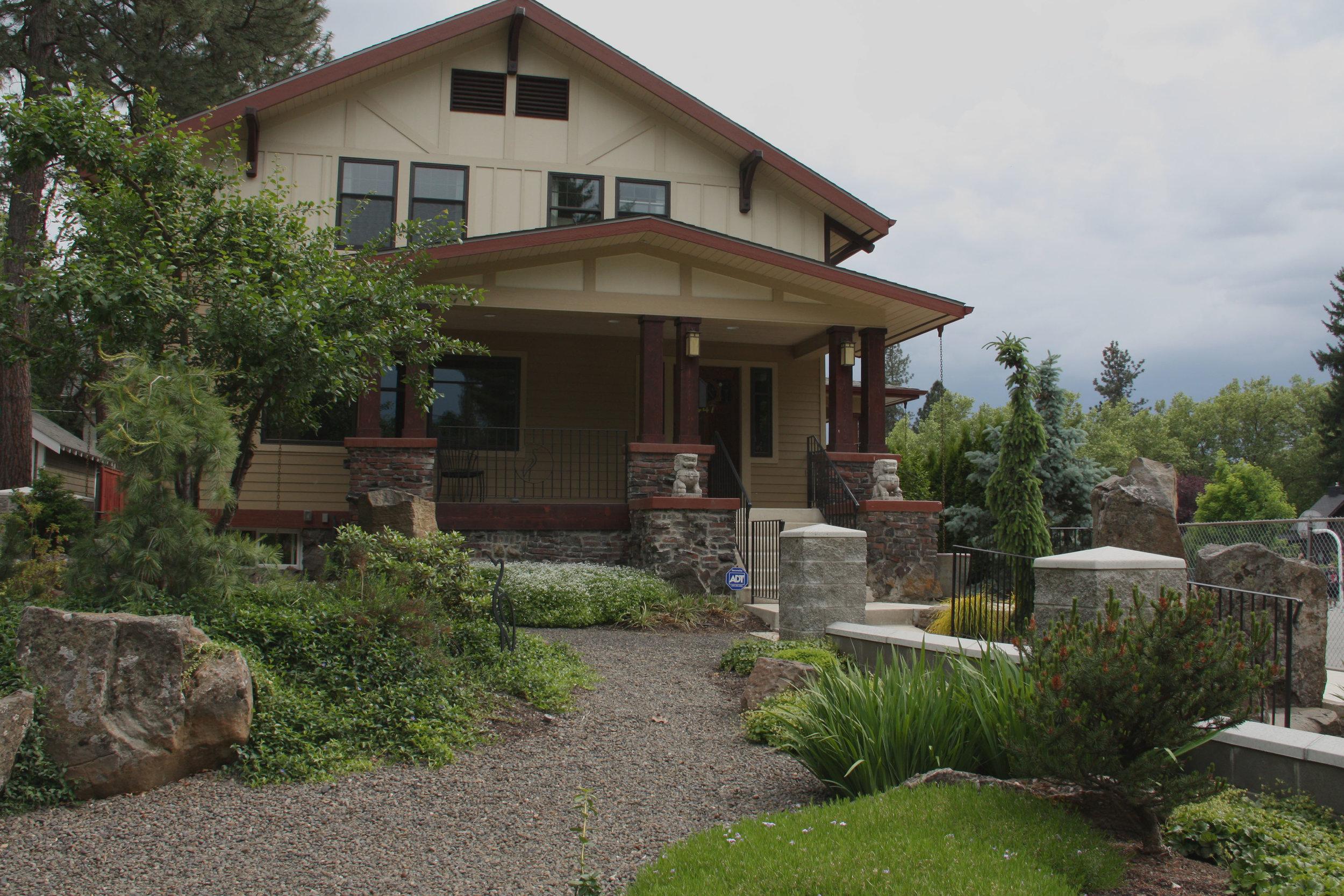 spokane gravel pathway landscaping
