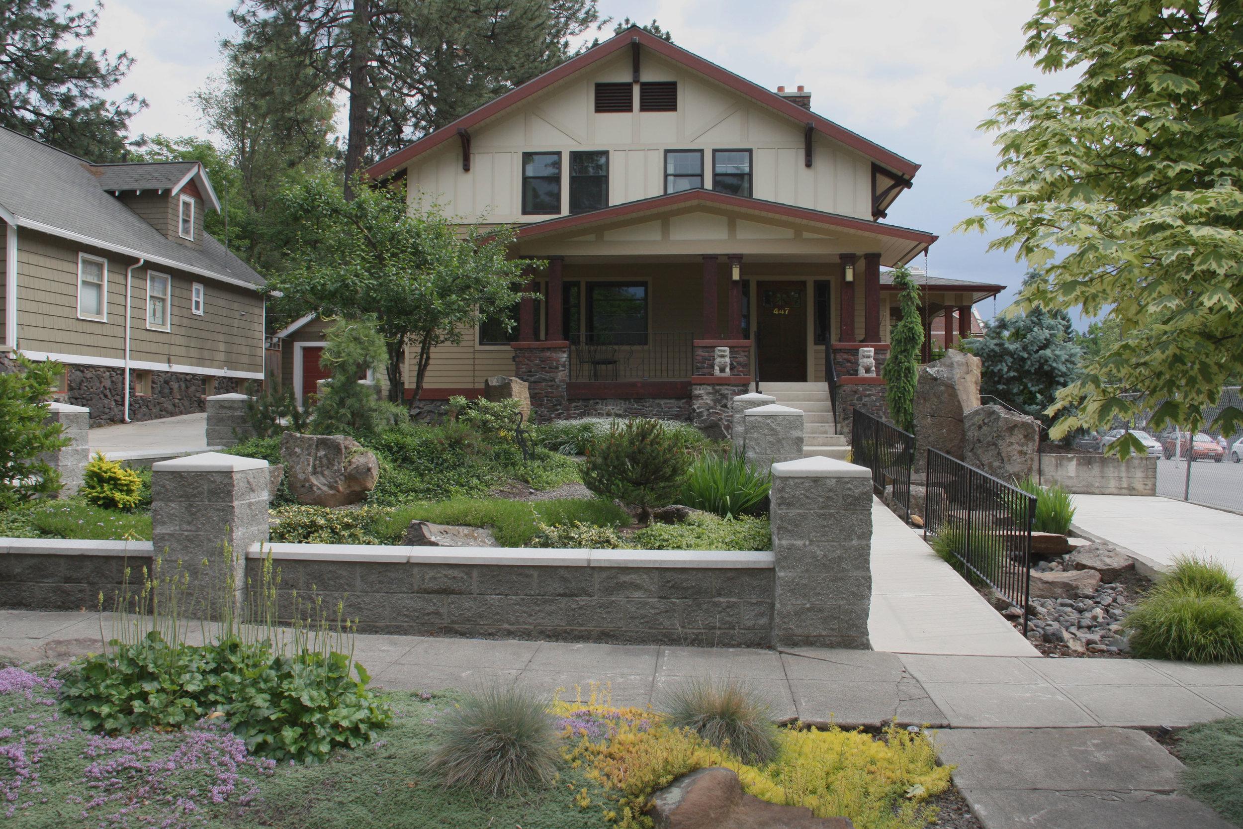 spokane craftsman zen landscaping