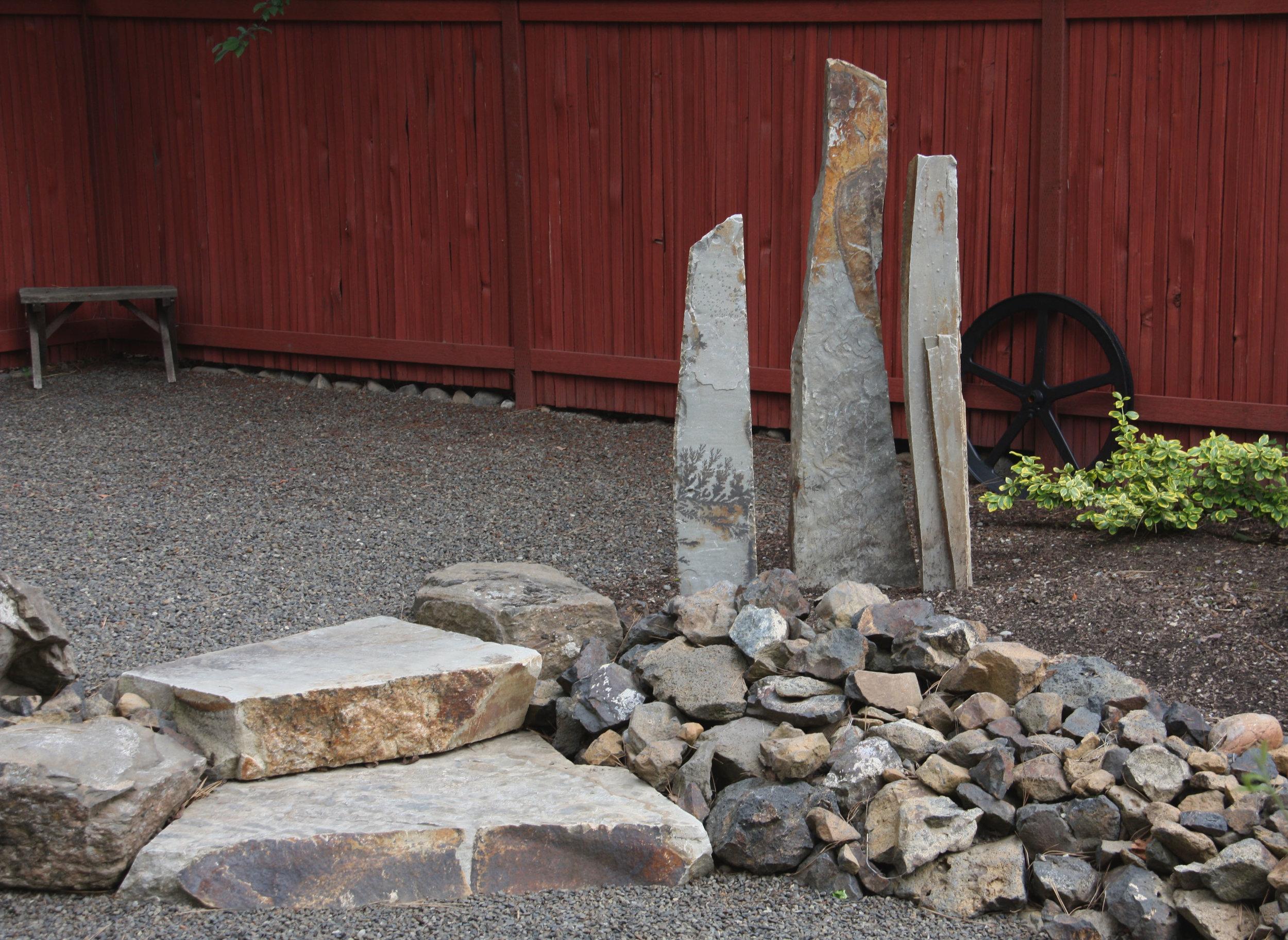 natural stone sculpture spokane