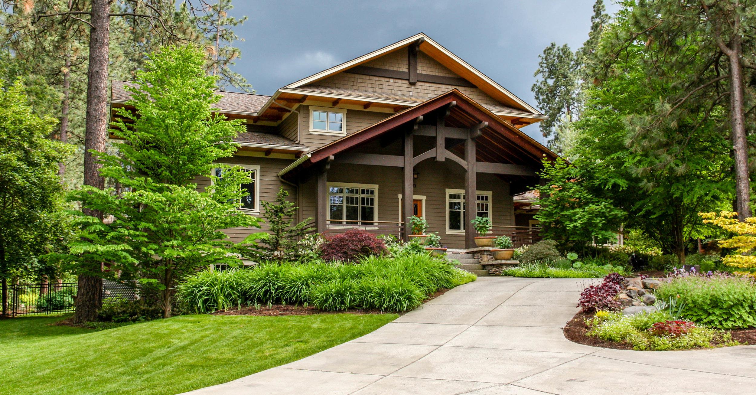 spokane south hill rockwood craftsman landscaping
