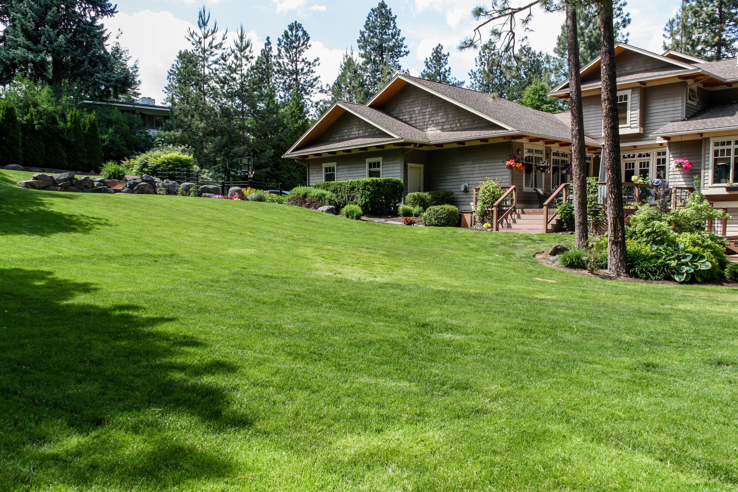 spokane south hill craftsman landscaping
