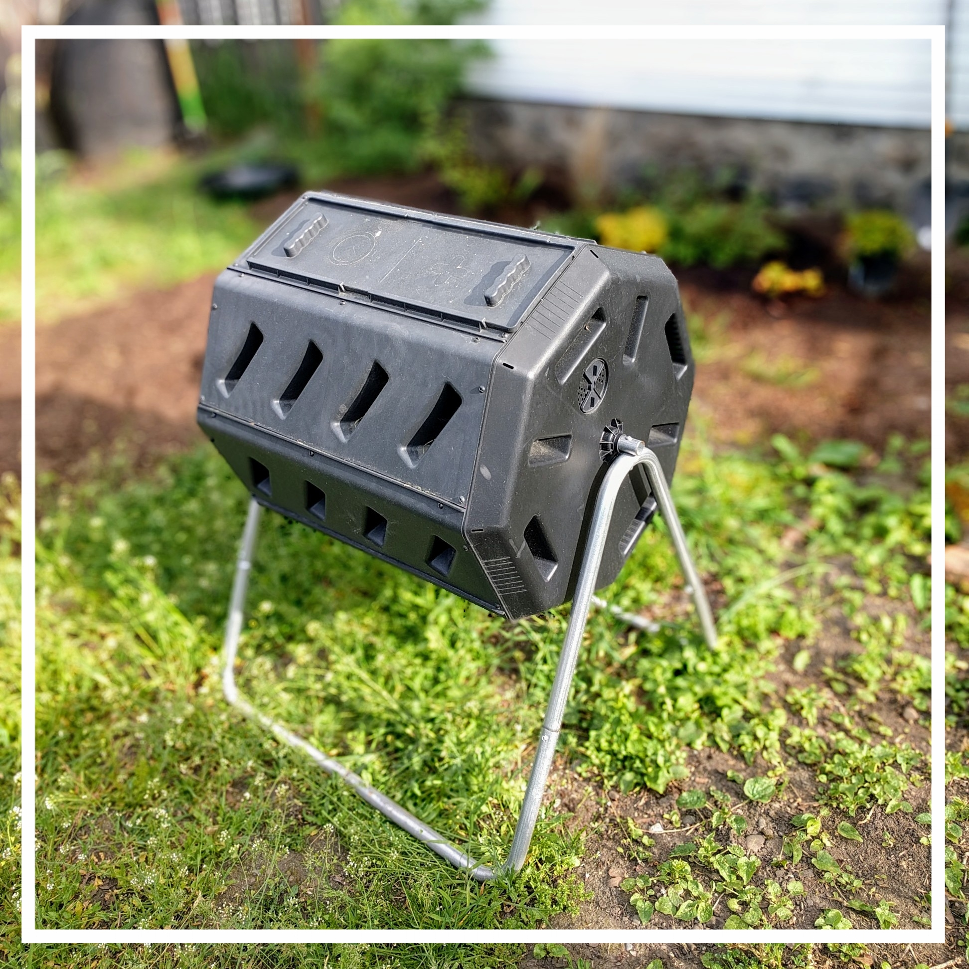 Compost tumblers will keep pests out, but have trouble letting decomposers in.