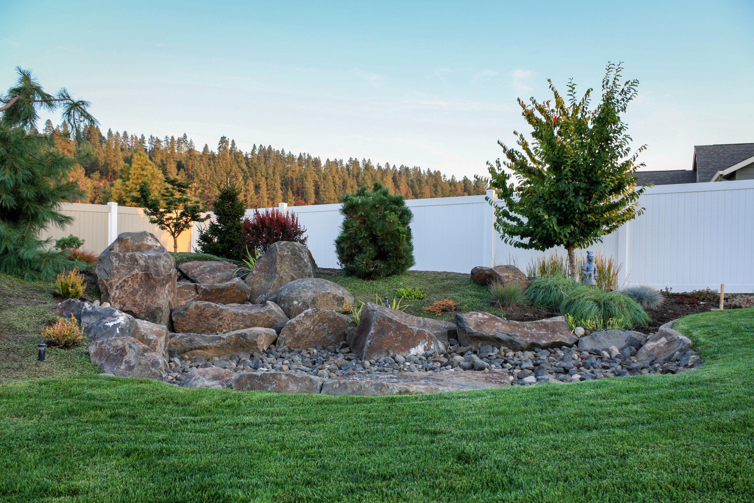 Shelley Lake Backyard Spokane Valley Landscape Design Pacific