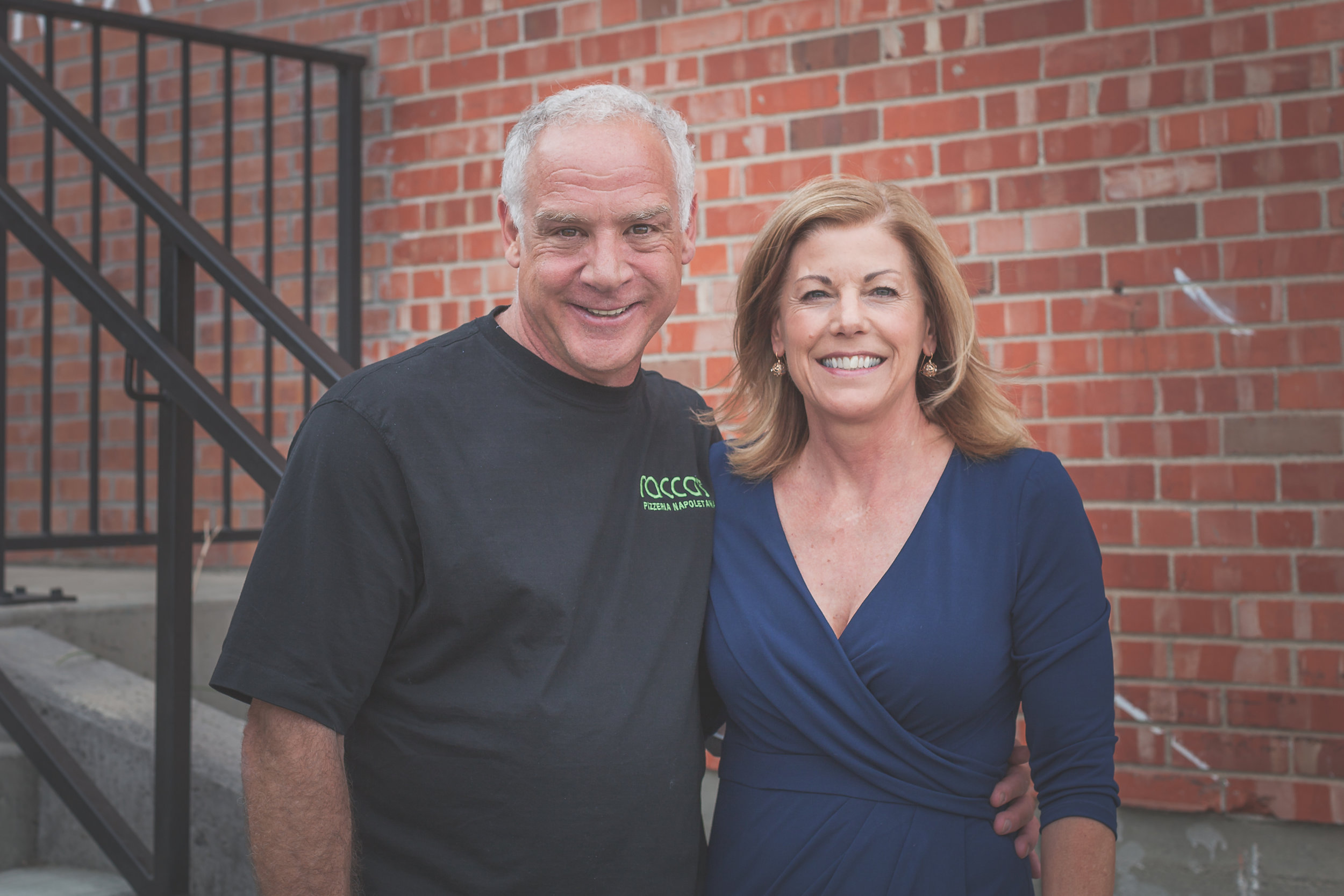 Owners, Mark and Kristy Dym