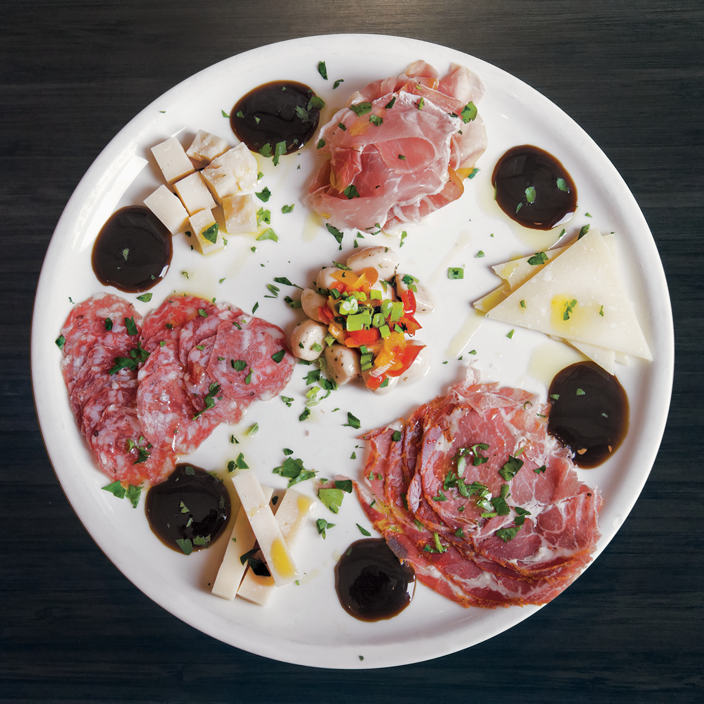 Antipasto with Imported Charcuterie