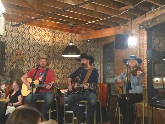 Chancey Williams and the Younger Brothers Band Acoustic Showcase at Racca's Pizzeria Napoletana