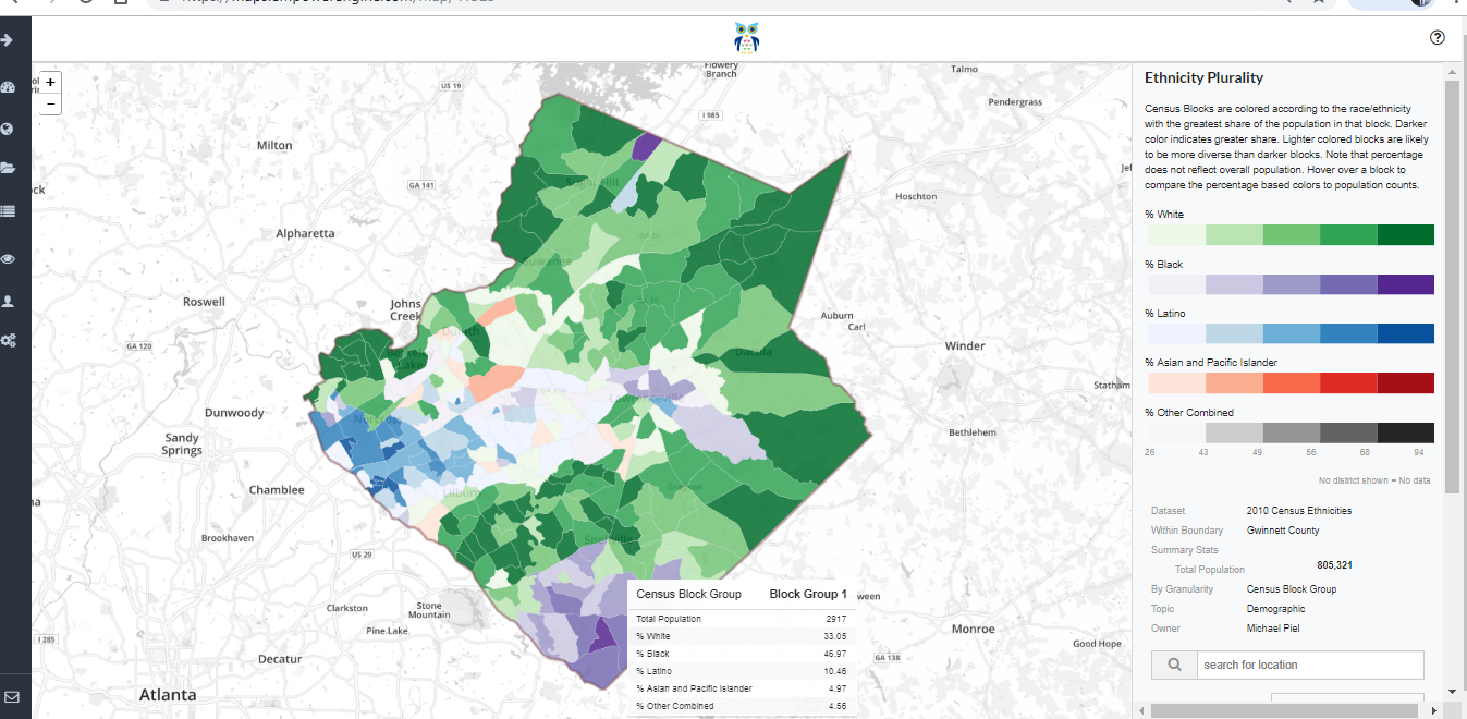 Ethnic Plurality in Wake County, NC