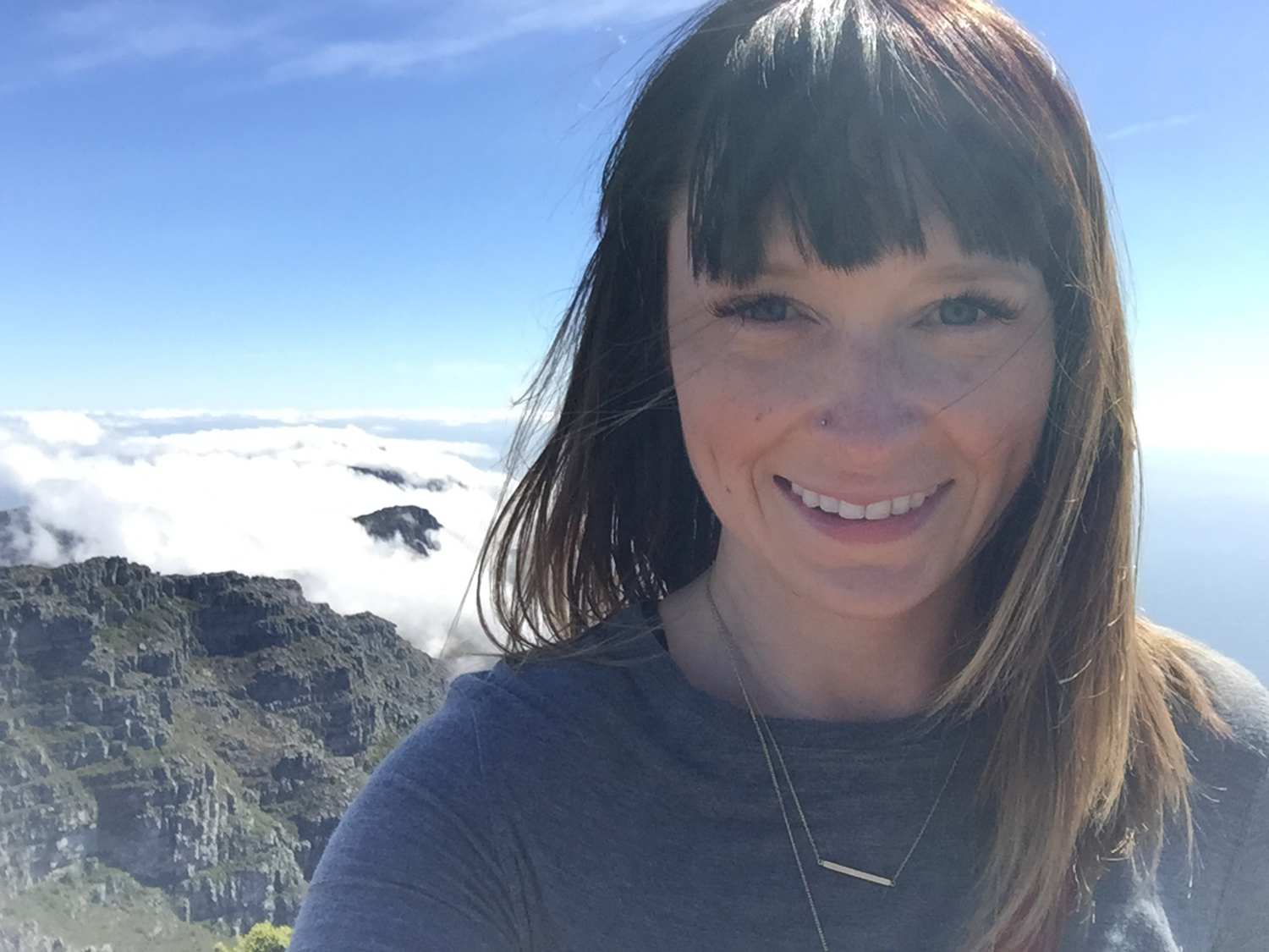 Ashley Dasent, Table Mountain, Cape Town - South Africa.