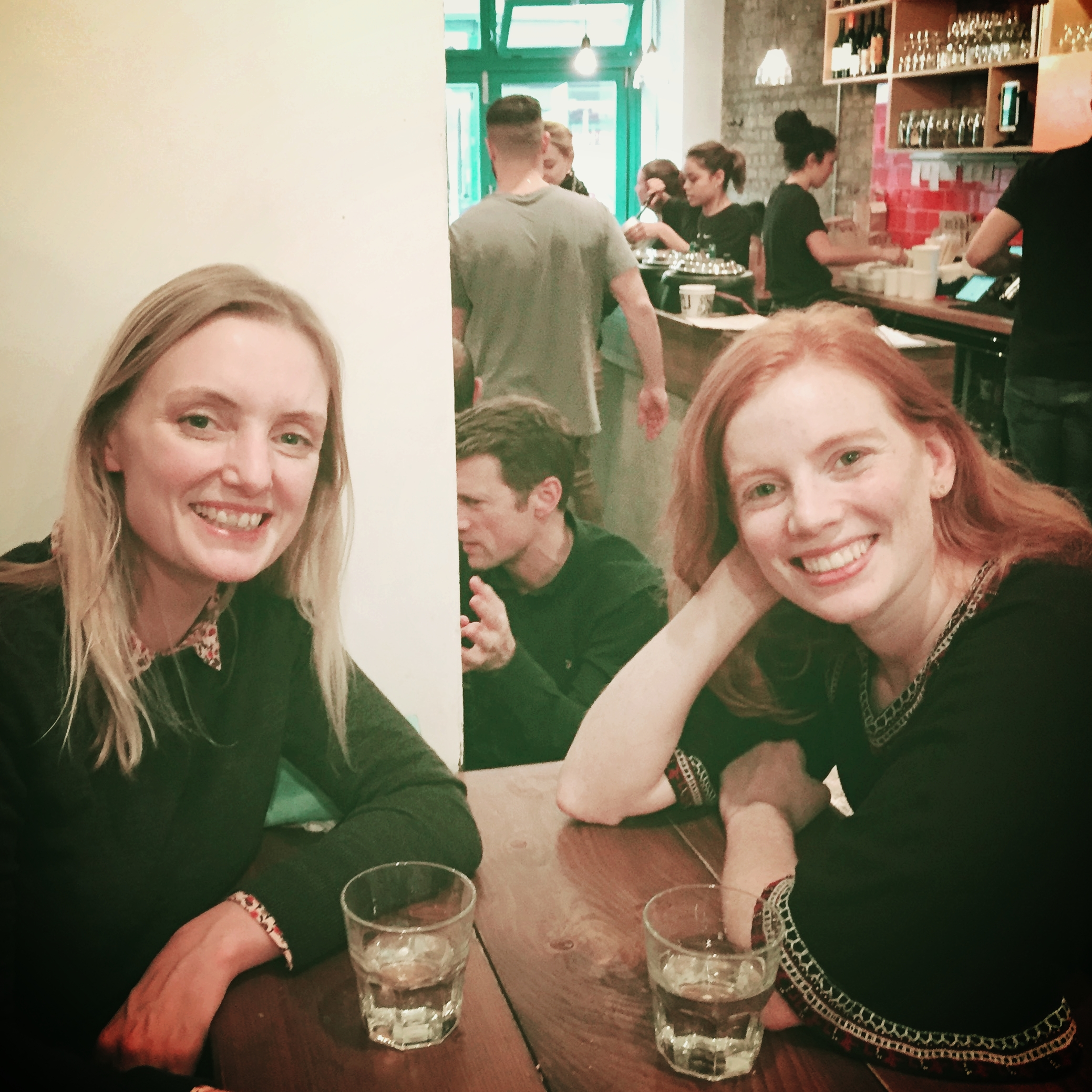 Interviewing the lovely digital nomad, Aggie in Leather Lane, East London
