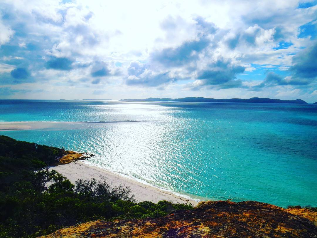This beautiful photo of The Whitsunday Islands is courtesy of  Rose Marie  (thank you!)