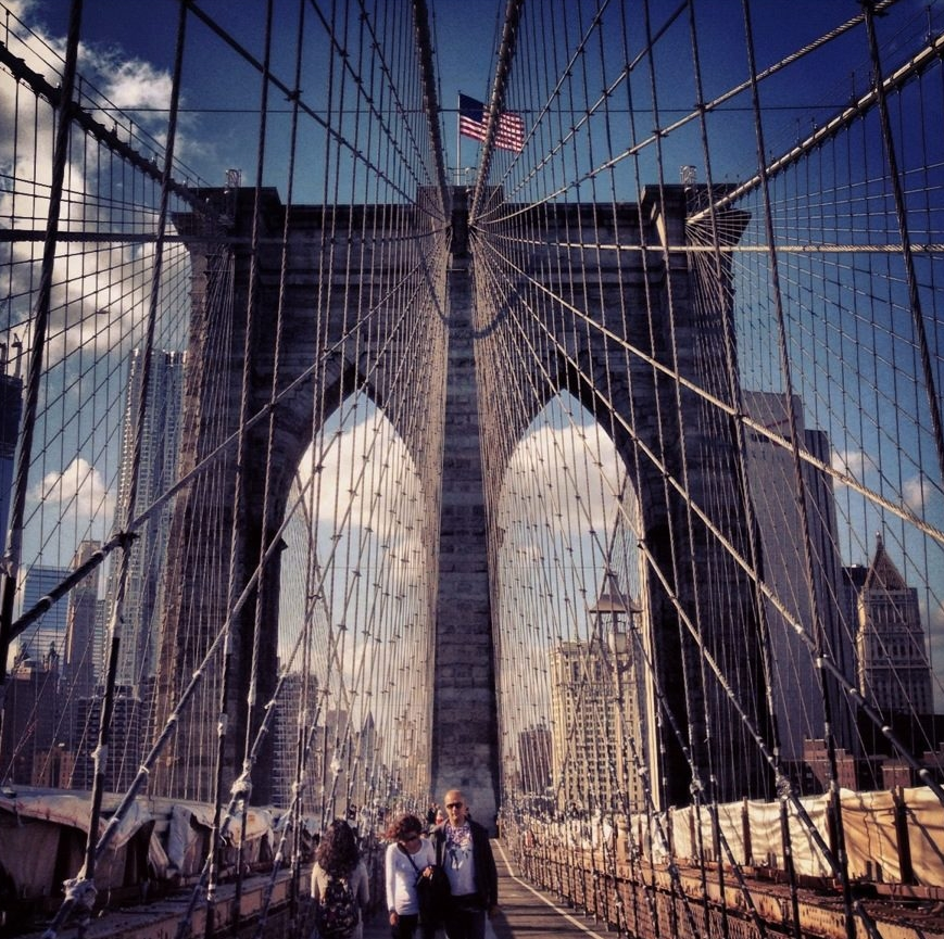 The ultimate solo travel guide to New York - Brooklyn Bridge