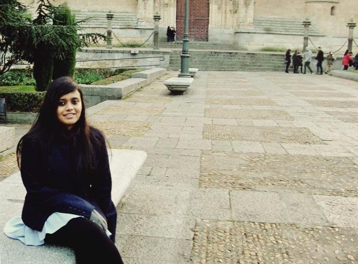 Arunima in Salamanca