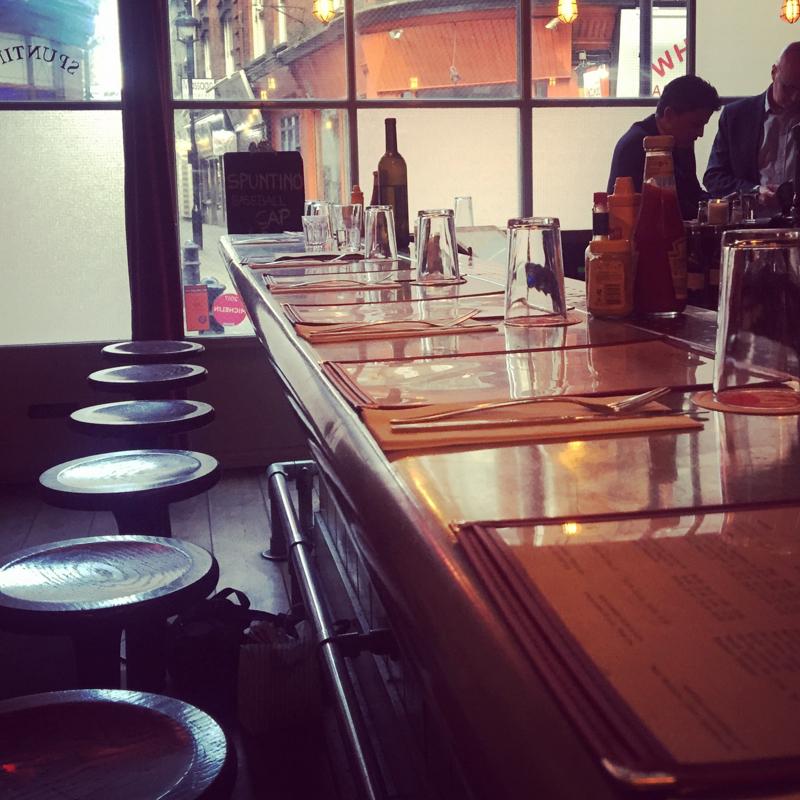 Solo dining restaurants London