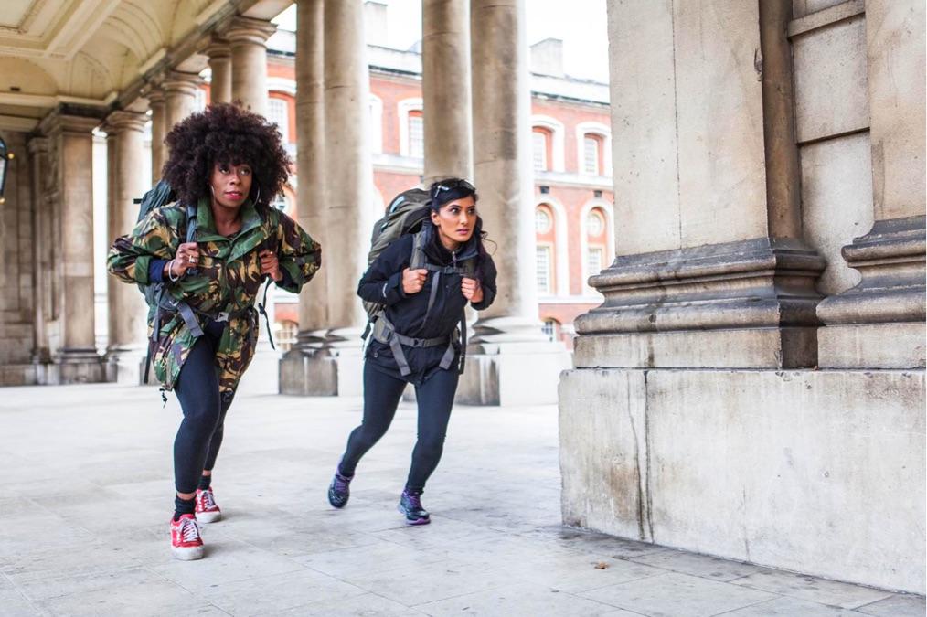 Race across the world Natalie Shameema