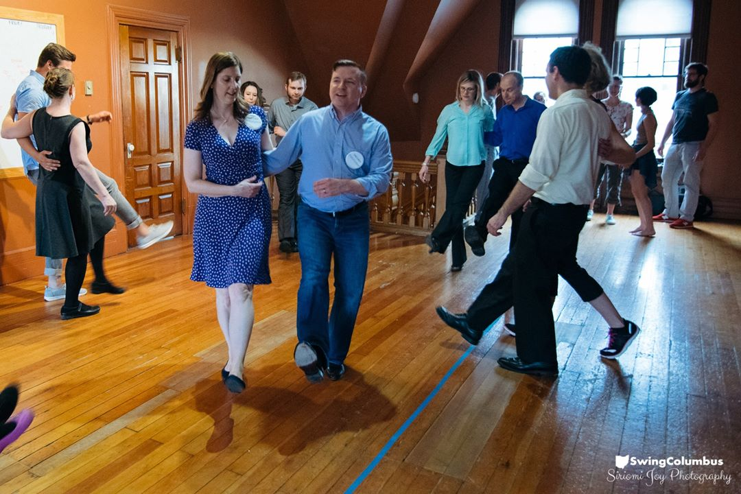 SwingColumbus   SwingColumbus is a not-for-profit educational and social organization dedicated to the preservation, study, teaching, enjoyment, and continuing evolution of swing dance. They host social dances and workshops around Columbus and teach weekly workshops on Thursday evenings at the Columbus Learning Cooperative.