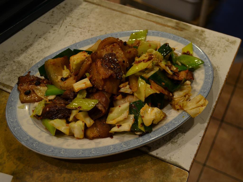 Twice Cooked Pork  回锅肉