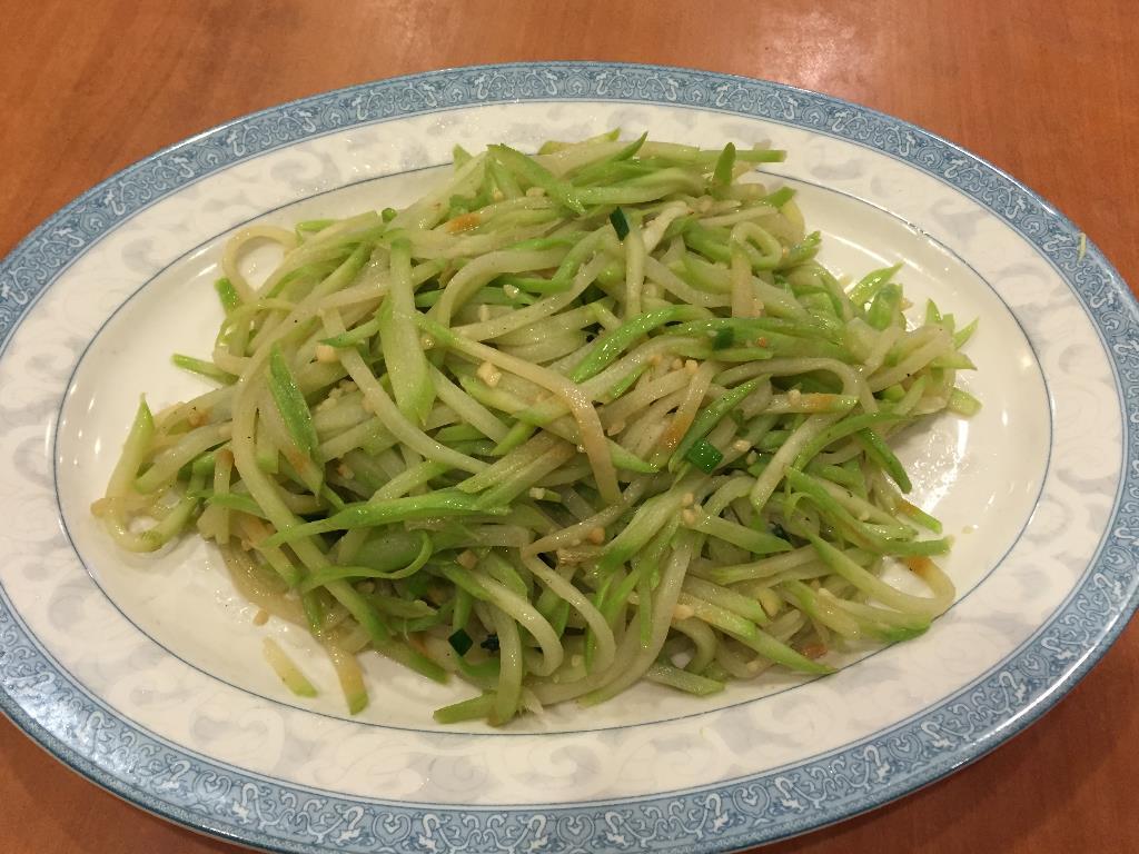 Choko / Vegetable Pear / Buddha's Hand Squash  清炒佛手瓜