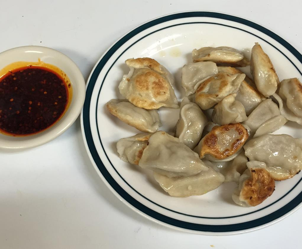 Pan Fried Dumplings (pork)  锅贴