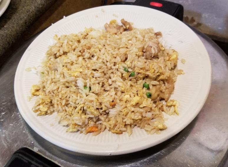 Pork Fried Rice  猪炒饭