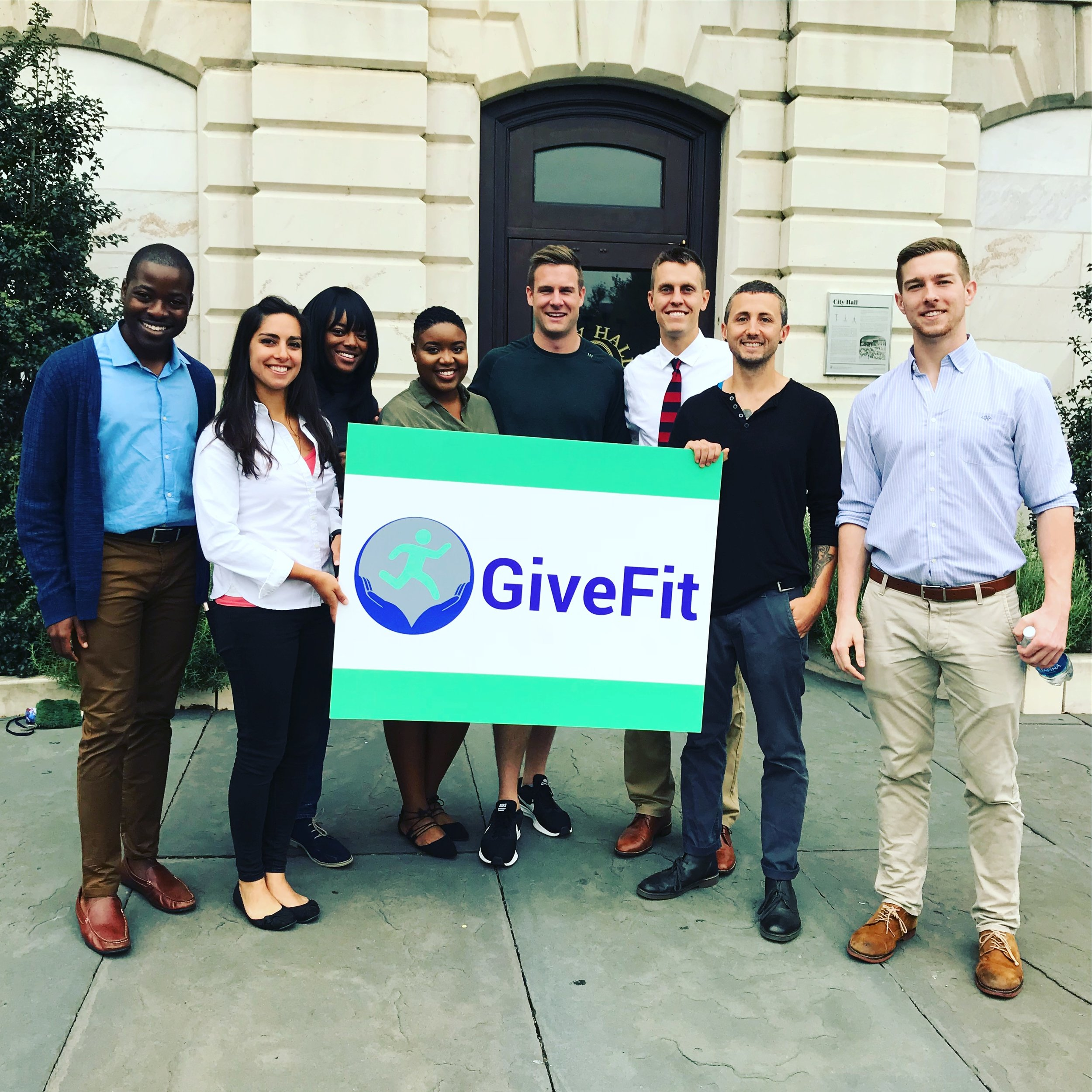 GiveFit promotes the fitness classes of those such as VoloCity, Living Classrooms, MissionFit, and many more!