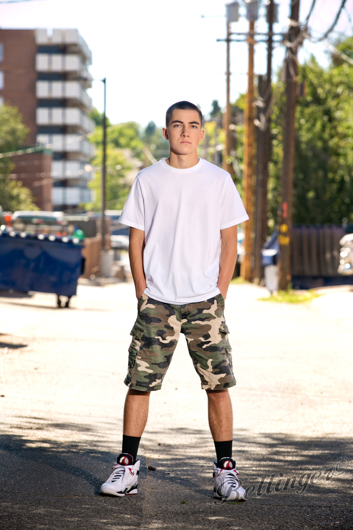 - Christian wants to be an auto body specialist or Military Police. Maybe you can do both?