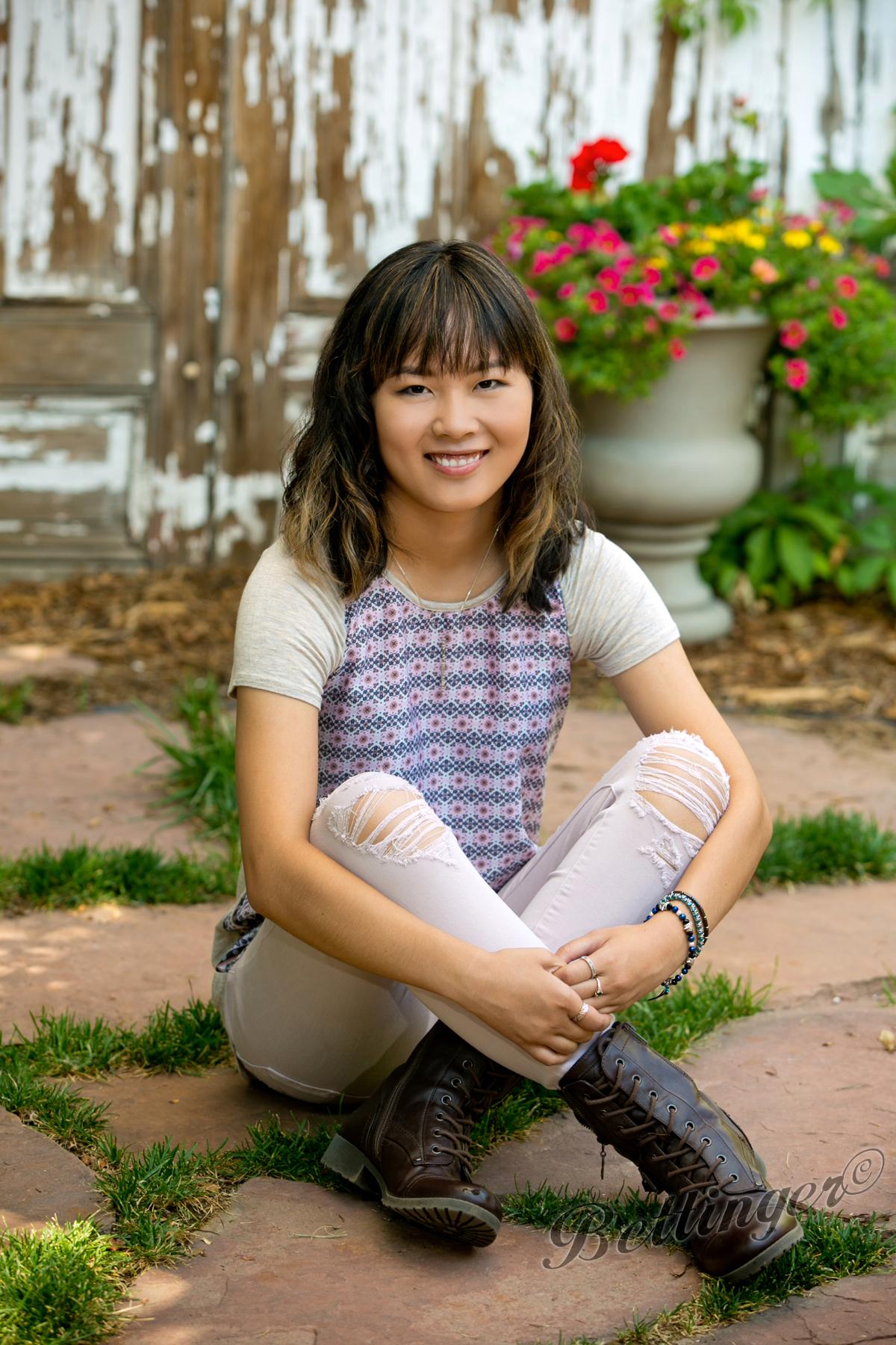 - Megan will be graduating from Grandview High School.