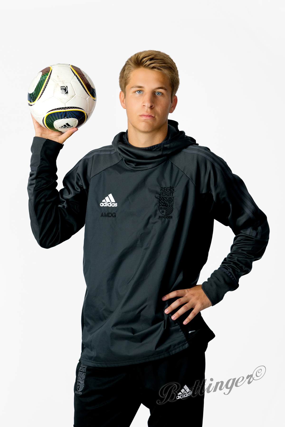 - Cole is a senior at Regis Jesuit and play soccer.