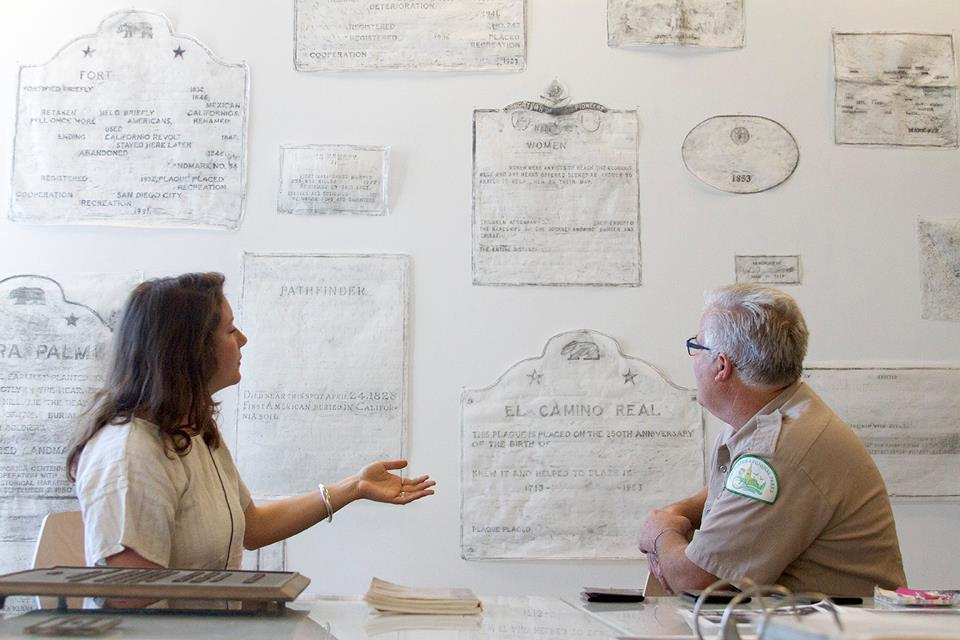 Public conversation with Park Ranger Kim Duclo at the Experimental Drawing Studio