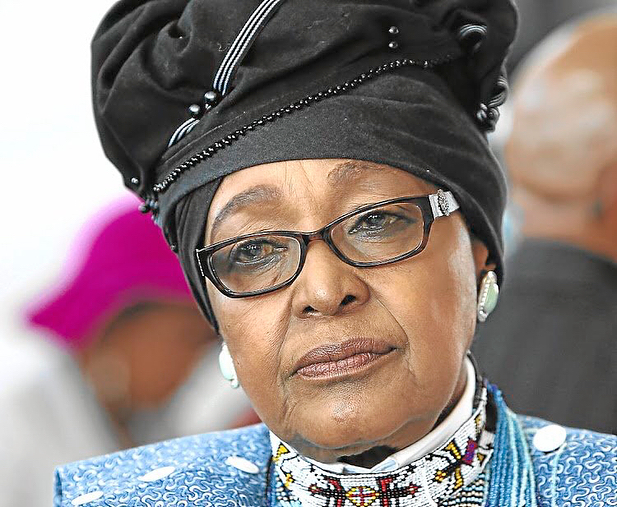 Winnie Madikizela-Mandela died peacefully' with family by her side. May she rest in power. #BlackHerstory