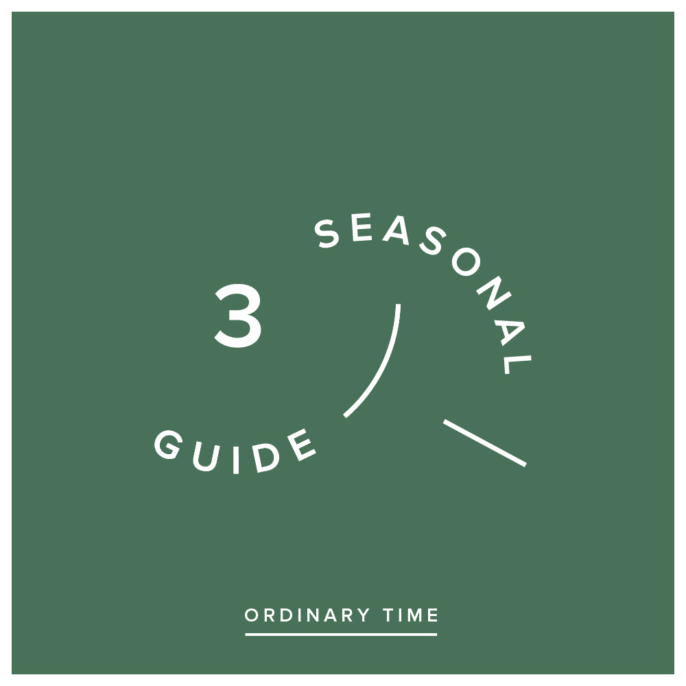 Seasonal Guide - Volume 3 - ORDINARY TIME - This year we are providing Blueprinters with a printed guide for the different seasons of the church calendar. These will follow on from every Sunday message, and will be a great tool for personal devotion or group reflection.We highly recommend grabbing a physical copy at a service, but here's a digital version for those who might need one: