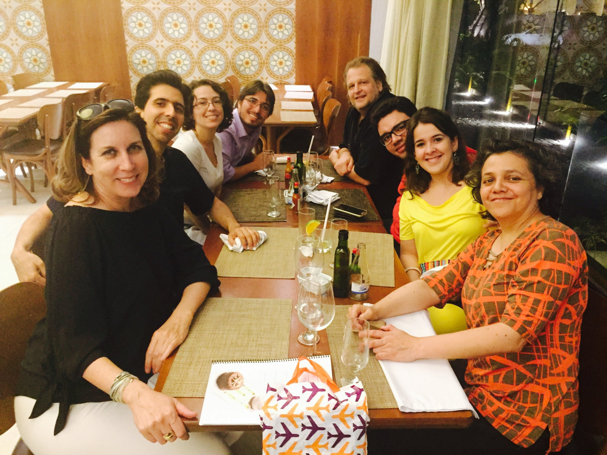 Post recital with Artist faculty from Natal and friends