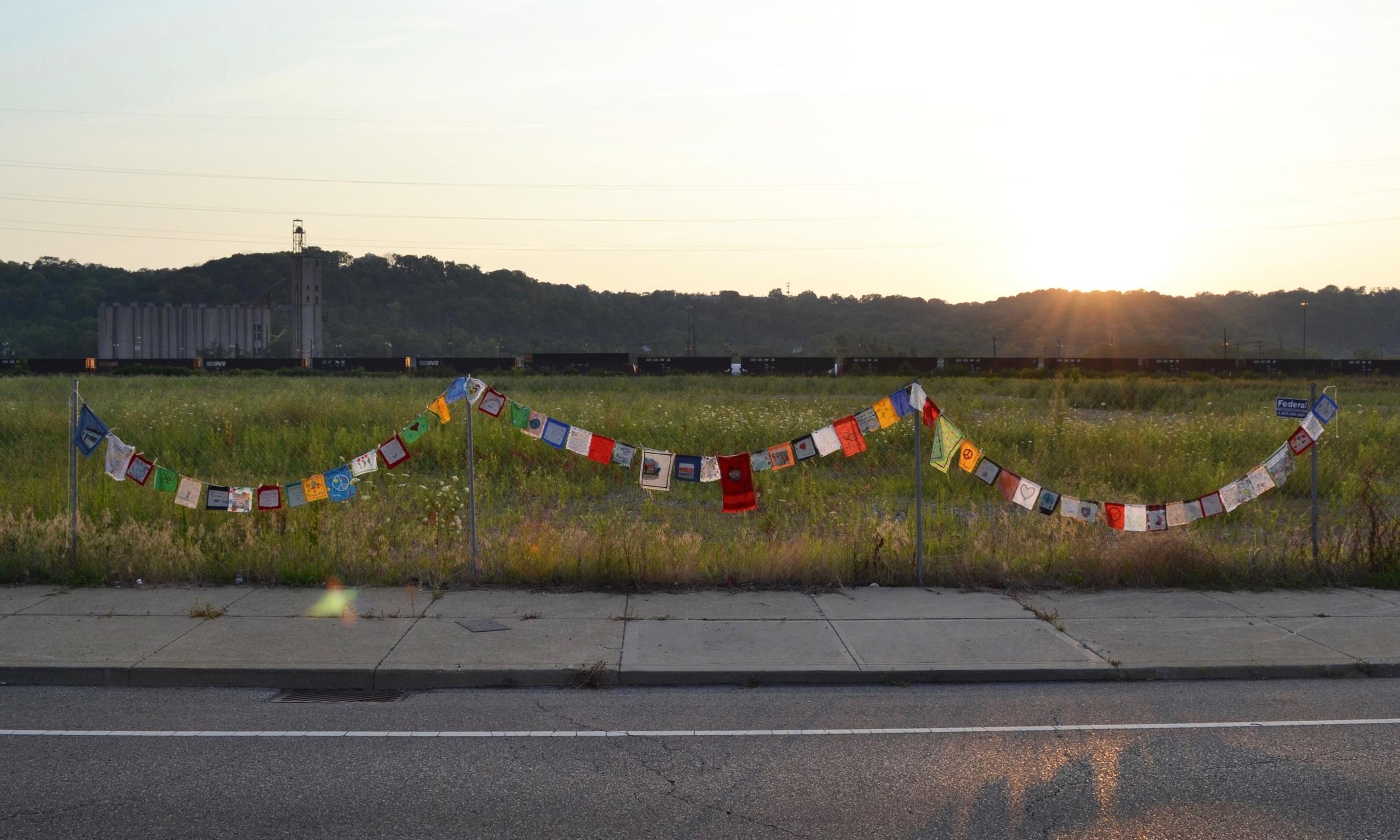 Prayer Flags for Cincinnati  Whitney Sage  2017