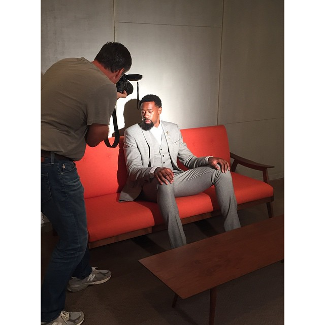 DeAndre Jordan  - Behind the Scenes of  Athlete's Quarterly