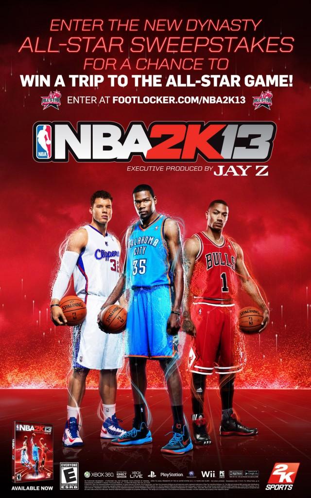 NBA 2K13 - Ad Campaign