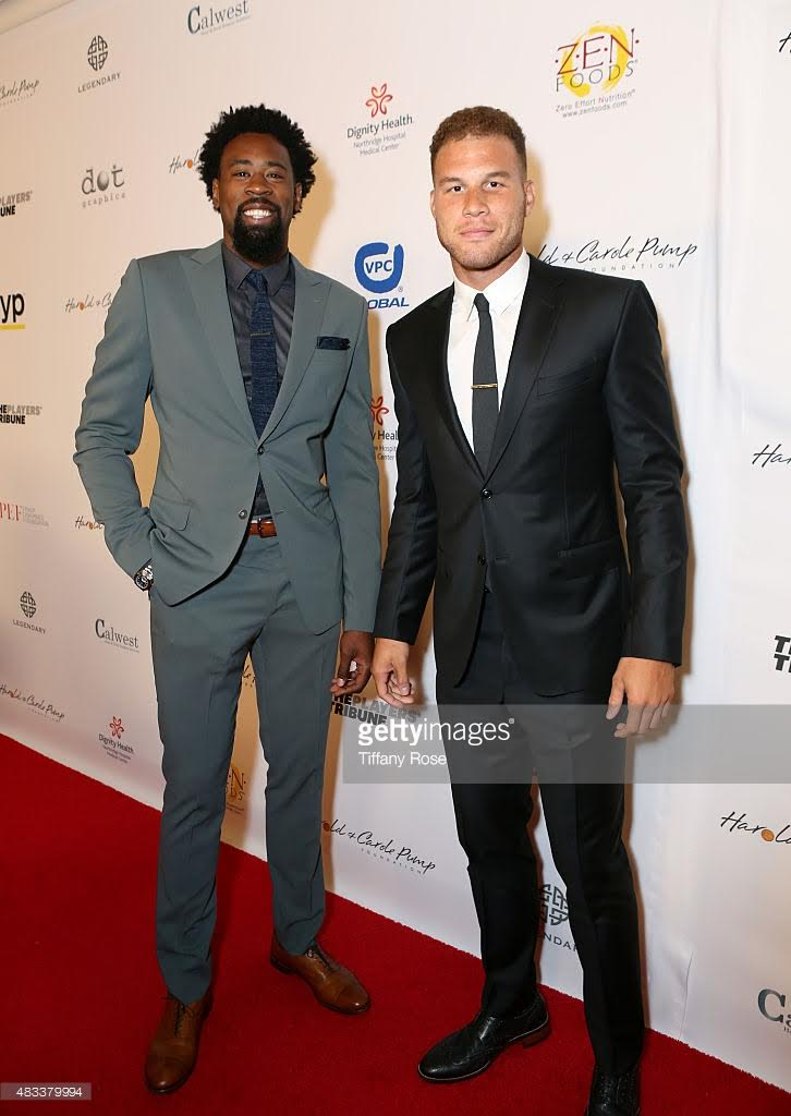 DeAndre Jordan  & Blake Griffin - Pump Foundation