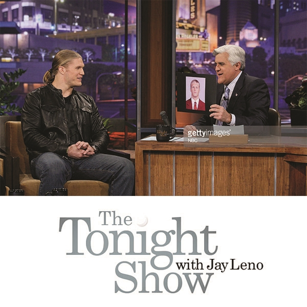 Clay Matthews  -  The Tonight Show  with Jay Leno