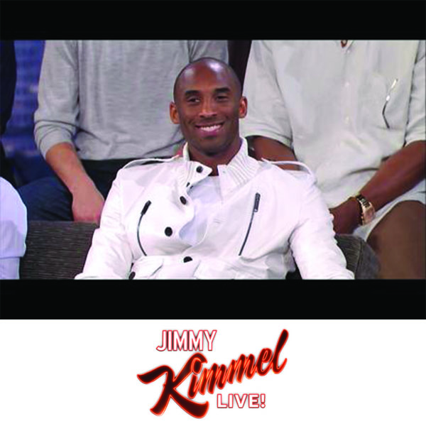 Kobe Bryant  w/ Laker Players - Jimmy Kimmel Live