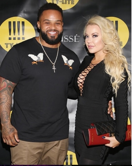 Prince Fielder and Chanel Fielder - New York Fashion Week