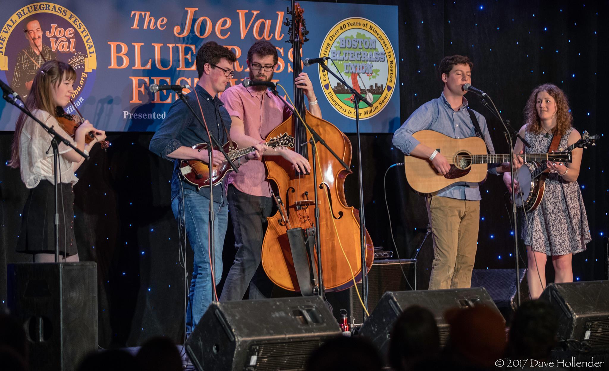 Mile Twelve at the 2017 Joe Val Bluegrass Festival
