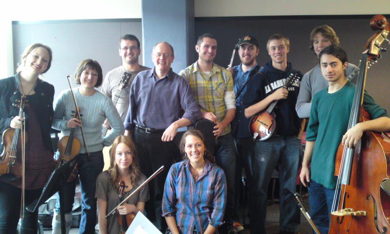 John McGann's 2009 Berklee Celtic Ensemble