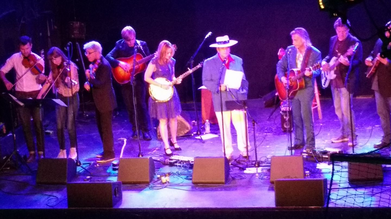 IBMA 2017 playing with Bobby Osborne & band