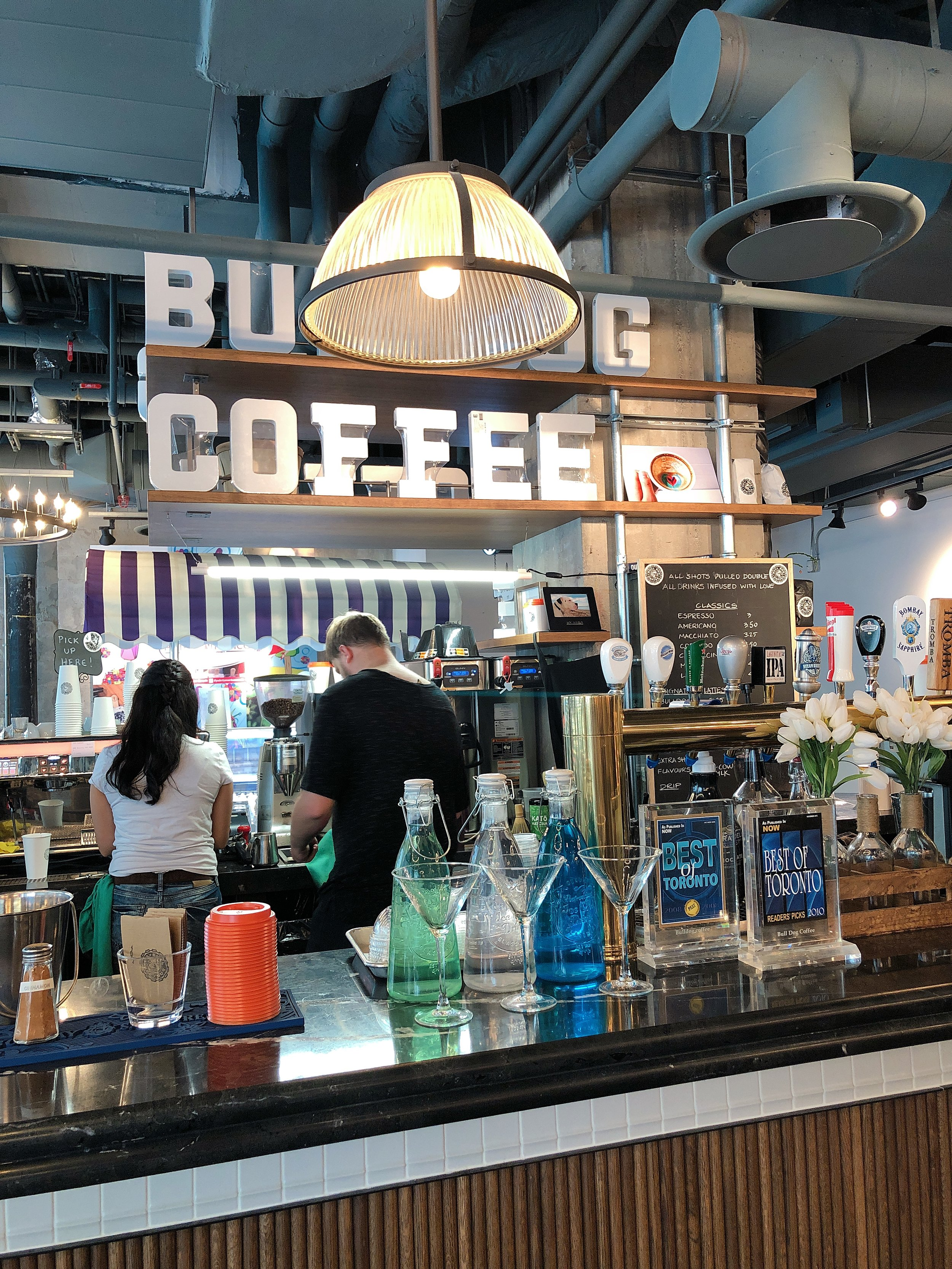 Bulldog Coffee at Assembly Chef's Hall