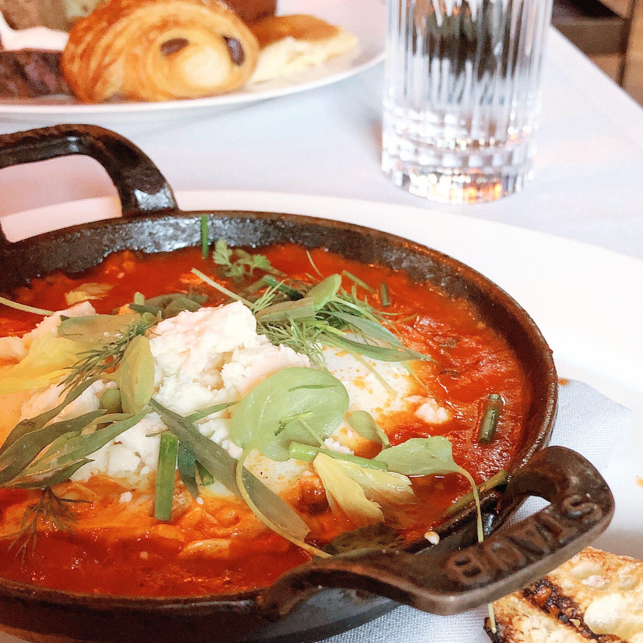 Eggs in Purgatory at Maple & Ash