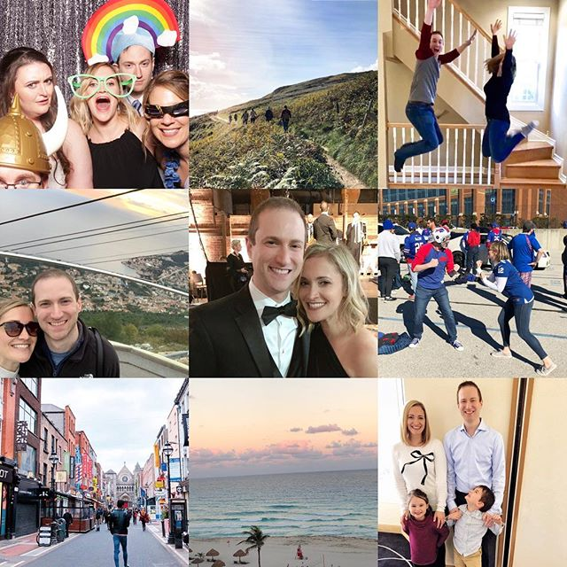 New house ✔️ New job ✔️ New car ✔️ Cancún and Dublin with my girls ✔️ Europe with my bestie ✔️Watched friends get married all over the country (and Canada!) ✔️ Adios, 2018...you sure were fun!! (and expensive 😬😎😉)