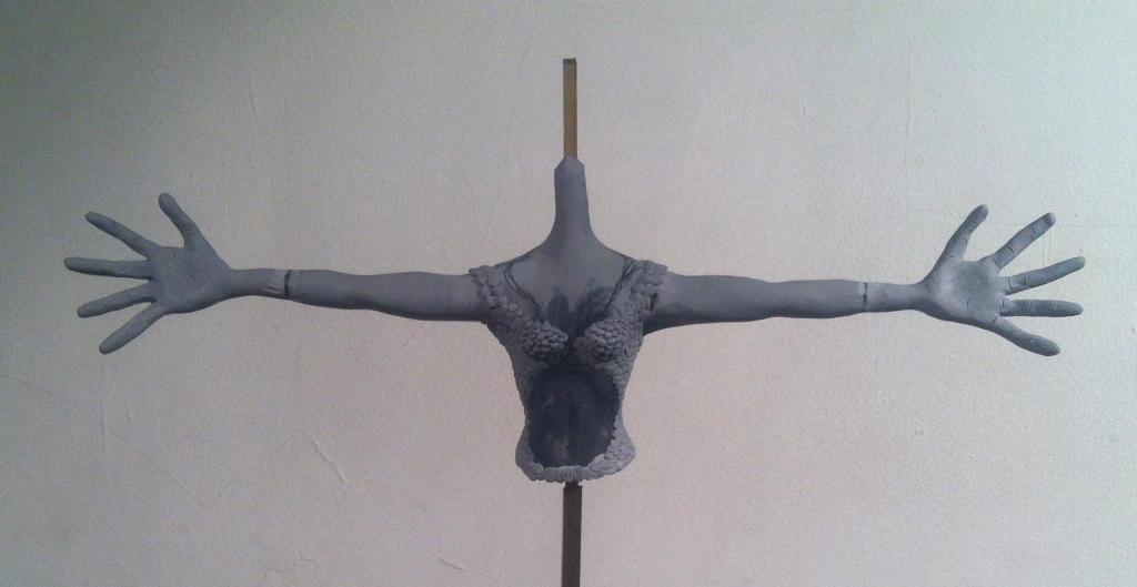 Maquette: Arms and Chest