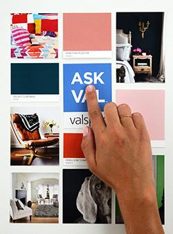Valspar's Pinterest Analyzer Screen Grab