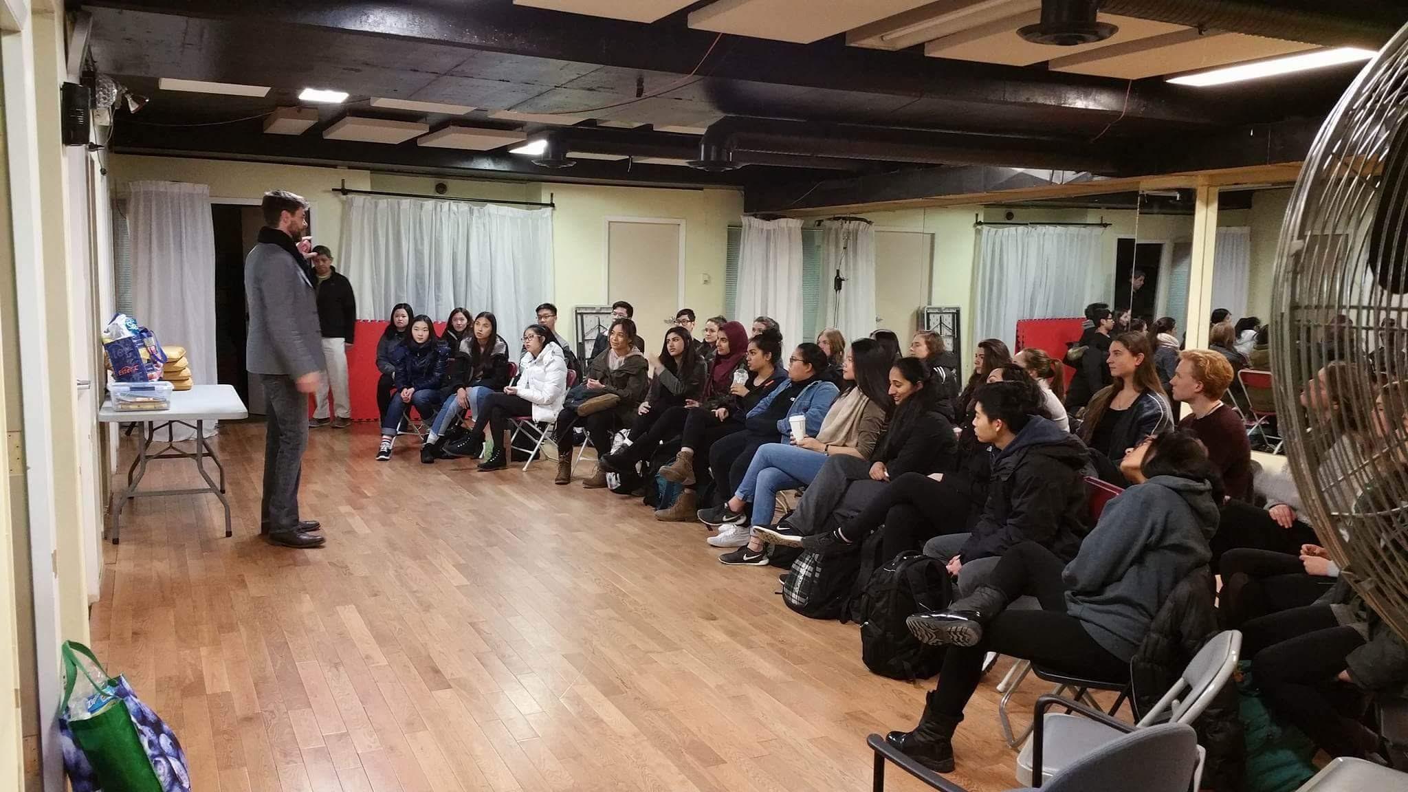 Compelling Stories - Speaking workshop for