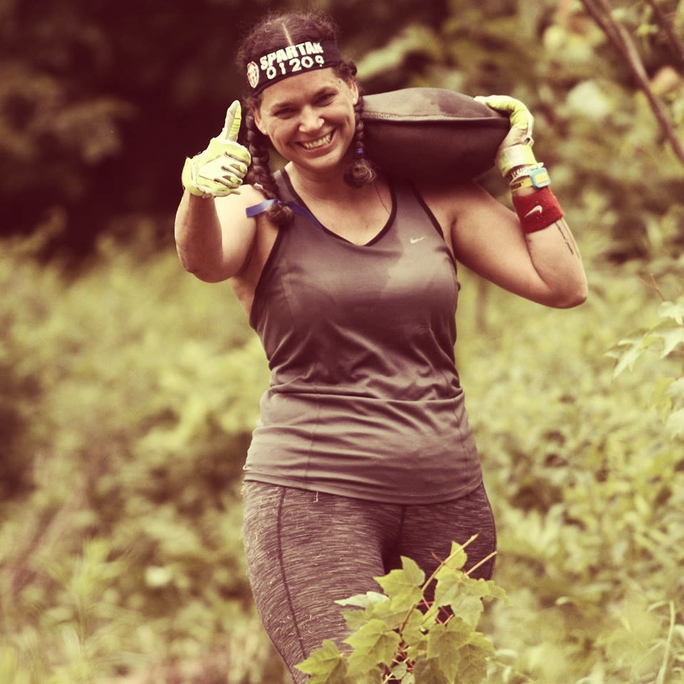 Mel during her GORUCK 9/11 Light Challenge