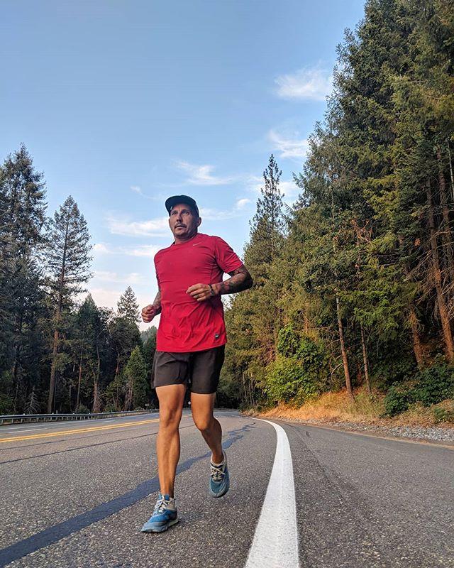 Runnin' through the pines in #california